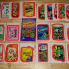 2010 WACKY PACKAGES ANS7 COMPLETE SET OF **PINK BORDER** + WRAPPER!!