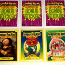 2011 GARBAGE PAIL KIDS THREE **BONUS CARDS** B1,B2 & B3  NM/MINT!! GREAT PRICE!!