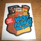 WACKY PACKAGES OLD SCHOOL2 INSERT STICKER NM+