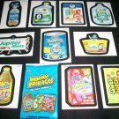 "WACKY PACKAGES 2011 ANS8 ""PACK TO THE FUTURE"" SET 10/10"