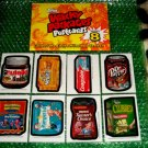 2012 WACKY PACKAGES SERIES8 COMPLETE BIO CARD SET (8) & SIGNED POSTCARD SET (6)