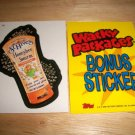 WACKY PACKAGES ANS4 ***ST.HIVES*** BONUS STICKER  B4