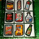 2006 WACKY PACKAGES ANS4 COMPLETE SET OF **MAGNETS** + WRAPPER.  NICE!
