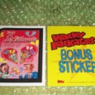 WACKY PACKAGES ANS6 ***SPLITHEARTS*** BONUS STICKER  B2