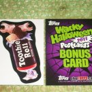 2011 WACKY PACKAGES ***TOOTHIE ROLL*** BONUS CARD  TS13   NEW!!