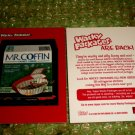 2004 WACKY PACKAGES ANS1 PROMO **MR.COFFIN** #1