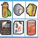 2011 WACKY PACKAGES OLD SCHOOL SERIES2 COMPLETE SET OF SIX CONCEPT CARDS RARE!!