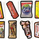 2011 WACKY PACKAGES HALLOWEEN POSTCARD SERIES BIO CARD SET 8/8 HARD TO FIND!!