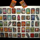2013 WACKY PACKAGES ANS10 COMPLETE 55 CARD SET + WRAPPER!!