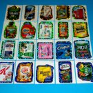 2010 WACKY PACKAGES ANS7 COMPLETE FLASH FOIL SET!! 20/20  GPK