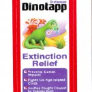 2013 WACKY PACKAGES ANS11 RED BORDER **DINOTAPP** STICKER #22