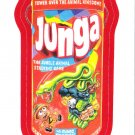 2013 WACKY PACKAGES ANS11 RED BORDER **JUNGA** STICKER #44