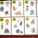 "2013 GARBAGE PAIL KIDS BNS3 COMPLETE ""STICKER SCENE"" Set 10/10 + WRAPPER!"