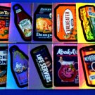 2006 WACKY PACKAGES ANS4 COMPLETE SET OF **FOILS** + WRAPPER!!