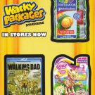 2013 Topps Over Size Promo Card Wacky Packages Postcards NYC COMIC CON
