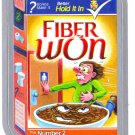 2013 WACKY PACKAGES ANS10 SILVER CARD **FIBER WON** #23 NEW SERIES