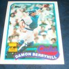 Topps 1989 ALL STAR ROOKIE **DAMON BERRYHILL** BASEBALL CARD