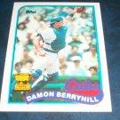 Topps 1989 ALL STAR ROOKIE **DAMON BERRYHILL** BASEBALL CARD