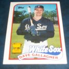 Topps 1989 ALL STAR ROOKIE **DAVE GALLAGHER** BASEBALL CARD