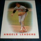 Topps 1985 TEAM Leaders **BOB GRICH** BASEBALL CARD