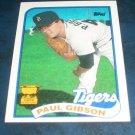 Topps 1989 ALL STAR ROOKIE **PAUL GIBSON** BASEBALL CARD