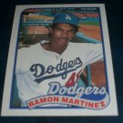 Topps 1988  **RAMON MARTINEZ** BASEBALL CARD #225