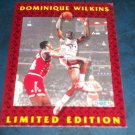 1992 FLEER LIMITED EDITION **DOMINIQUE WILKINS ** BASKETBALL CARD