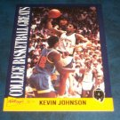 1992 KELLOGGS RAISAN BRAN COLLEGE BASKETBALL GREATS **KEVIN JOHNSON** CARD