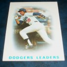 Topps 1985 TEAM Leaders **BILL RUSSELL** BASEBALL CARD