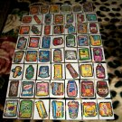"2012 WACKY PACKAGES ANS9 COMPLETE 55 ""SILVER"" CARD SET + WRAPPER! HARD TO FIND!"