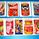 2005 WACKY PACKAGES ANS2 COMPLETE SET of **CLEAR CLINGS** 9/9   HTF!!