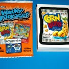 2012 WACKY PACKAGES ANS9 COMPLETE 55 CARD SET + WRAPPER!!  NEW!!
