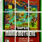 "WACKY PACKAGES ANS9 ""SUPER MARIO MOTHERS"" PUZZLE + MORE!"