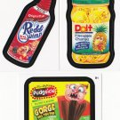 2013 WACKY PACKAGES ANS11 COMPLETE SET OF TARGET PACKS BONUS STICKERS  B1,B3,B4