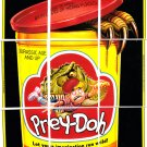 "2013 WACKY PACKAGES ANS11 ""PREY-DOH"" (PLAY-DOH) COMPLETE PUZZLE 9/9"