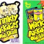 2012 WACKY PACKAGES OS4 PHILLY NON-SPORT SHOW EXCLUSIVE FLIP PROMO CARD