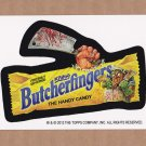 "2013 WACKY PACKAGES HALLOWEEN SERIES ""BUTCHERFINGERS"" BIO CARD by SMOKIN'JOE"