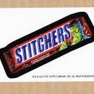 "2013 WACKY PACKAGES HALLOWEEN SERIES ""STITCHERS"" BIO CARD by JOE SIMKO"