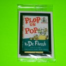 WACKY PACKAGES ANS2 ***PLOP ON POP*** BONUS STICKER in CELLOPHANE  B4