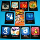 2013 WACKY PACKAGES ANS10 **AWFUL APPS** COMPLETE SET 10/10   NM/MINT