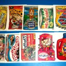 2005 WACKY PACKAGES ANS2 COMPLETE SET of **TATTOO'S** 10/10   HTF!!