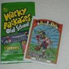 "2012 WACKY PACKAGES OLD SCHOOL SERIES 4 RARE! Variation ""Orange"" Baseball Card"