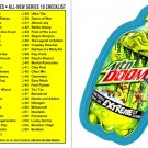 2013 WACKY PACKAGES ANS10 BLUE PARALLEL COMPLETE SET 1-55 + 1 WRAPPER!! NICE