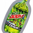 2013 WACKY PACKAGES ANS10 SILVER CARD **MTN DOOM** #1 NEW SERIES
