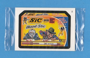2006 WACKY PACKAGES ANS4 **SIC** BONUS STICKER B6 STILL IN CELLO NM/MINT!!