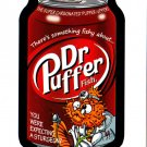 "WACKY PACKAGES "" DR.PUFFER"" MINI-POSTCARD  PCM5 NOW TOPPS IS SOLD OUT!!"