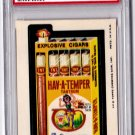 1975 WACKY PACKAGES 12TH SERIES  **HAV-A-TEMPER CIGARS** PSA GRADED 7 NM