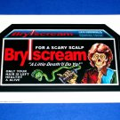 2009 WACKY PACKAGES OLD SCHOOL 1ST SERIES **BRYSCREAM** HUGE 5X7 STICKER!! HTF