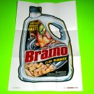 2012 WACKY PACKAGES 1ST SERIES POSTERS **BRAINO** POSTER #8  COOL!!