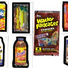 WACKY PACKAGES NEW SERIES 1  SET of 55 CARDS + WRAPPER!